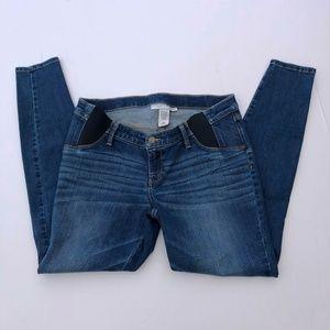 Liz Lange Maternity Medium Blue Skinny Jeans